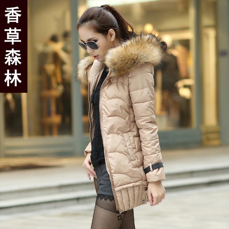 Женская утепленная куртка Мягкие зимы Одежда женская ванили лес 2013 новые дамы зимний хлопок длинные корейской версии плюс размер Quilted куртка XC