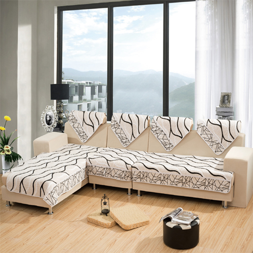 外贸特价 布艺沙发垫防滑布艺沙发垫坐垫沙发巾沙发套飘窗垫子