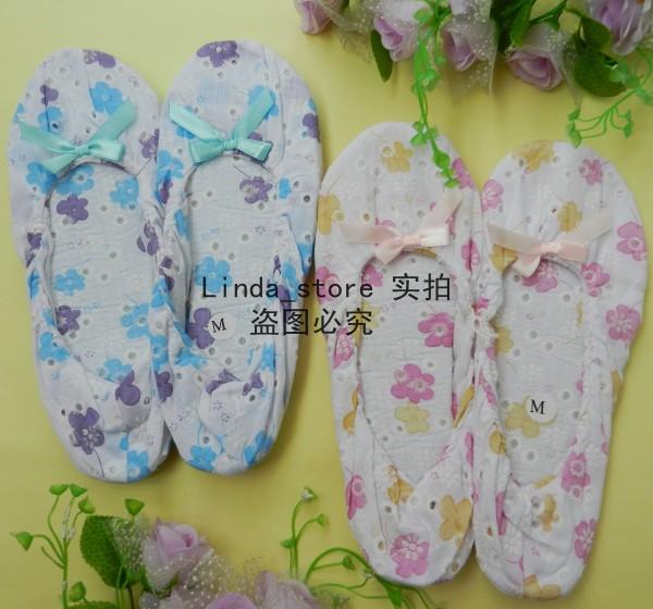 四季皆宜 布艺 月子鞋 软底鞋 孕妇鞋 瑜伽鞋 产前产后必备