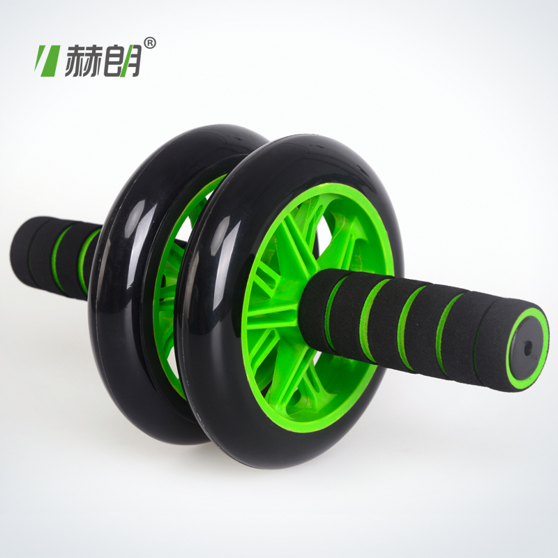 Helangjian abdominal wheel ABS wheel your thin waist semi-AB slide fitness equipment abdominal wheel wheel mute 包邮
