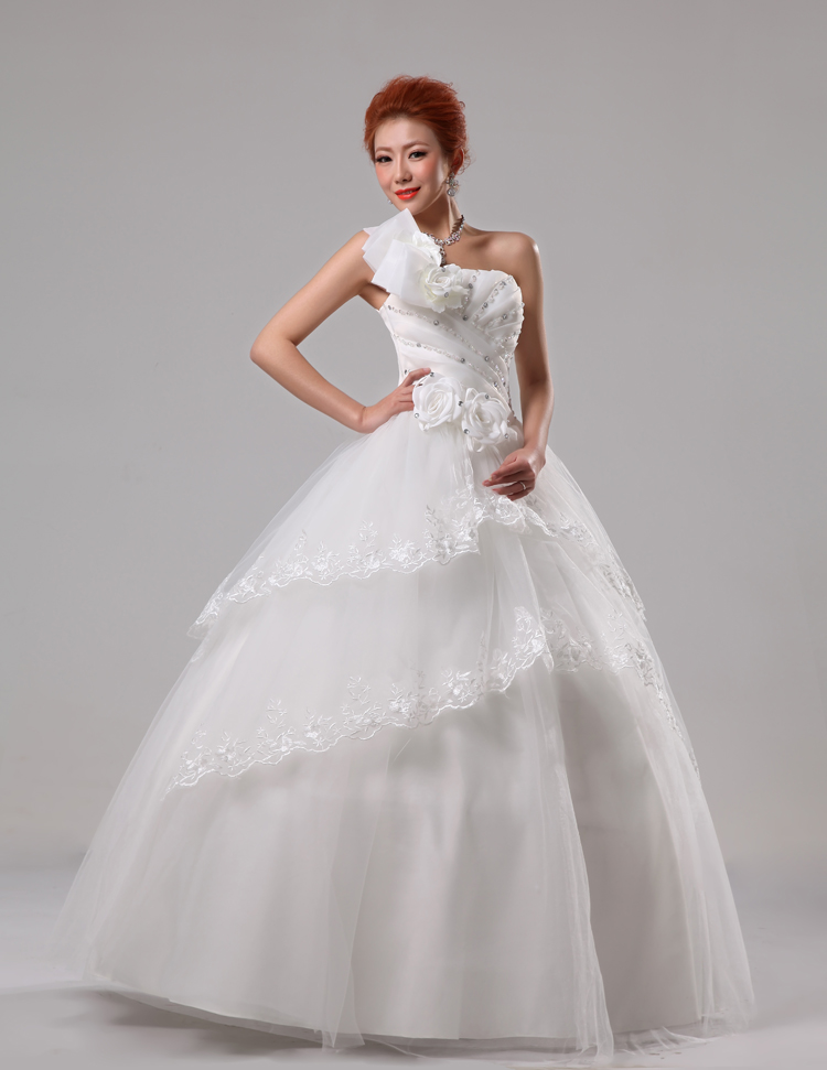 2013 Latest Korean Sweet Princess Wedding Dresses