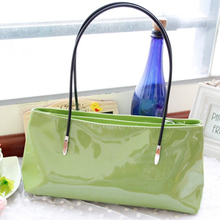 2013 summer new handbag handbag small bag candy colored light leather shoulder bag influx of women casual double package