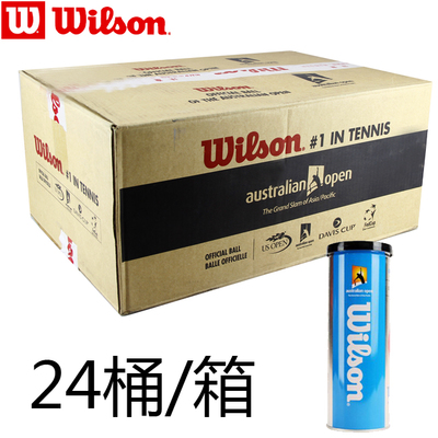 Cheap authentic Wilson Virgin wins the Australian Open tennis tournament training tennis cans 24 barrels of 1037
