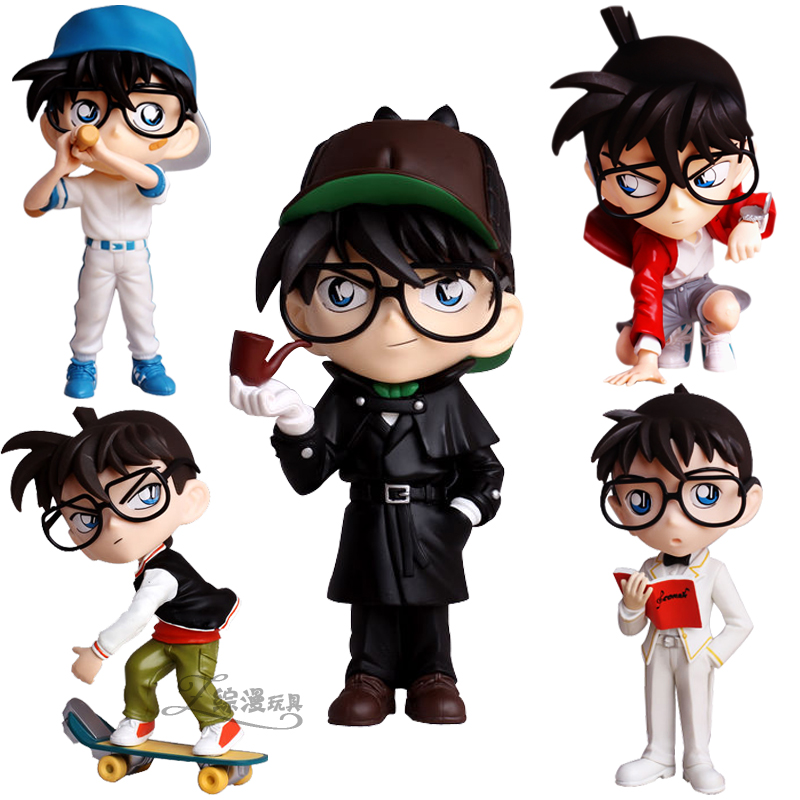 Comprehensive cartoon toy model of Detective Conan doll Figurine ornaments International Children ' s Day gifts