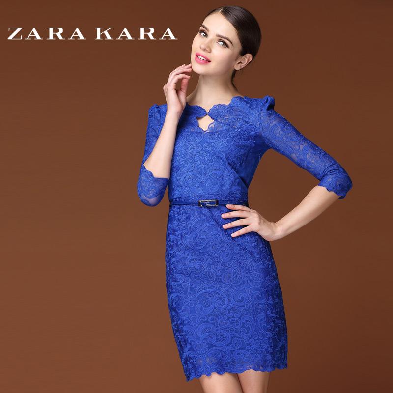 Женское платье Zara kara 2014