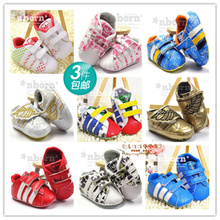 0 and 1 year old baby shoes for men and women of foreign trade baby antiskid soft bottom toddler shoes during the spring and autumn sneakers single ad34-42