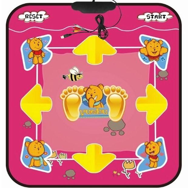 Authentic joy 4,096-bit HD TV computer dual-use 11MM padded dance mat weight loss package mail with multiple games