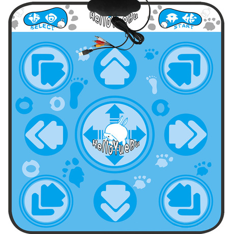 Chinese Yue TV computer dual-use 11MM thickening/two in one dance mat bag-mail weight loss dance