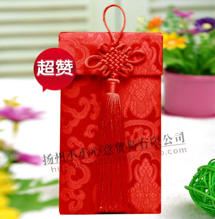 中国结红包 万元利是封 创意礼品个性婚礼 新娘结婚用品批发热卖