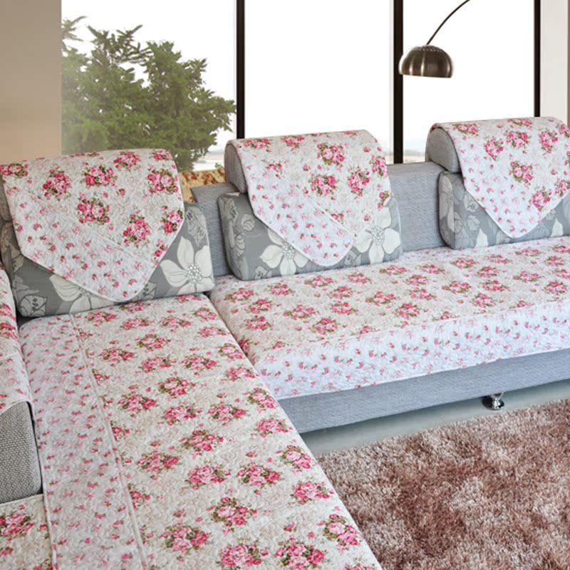 蒙丽菲 韩版沙发垫布艺坐垫特价包邮沙发巾沙发套沙发罩防滑
