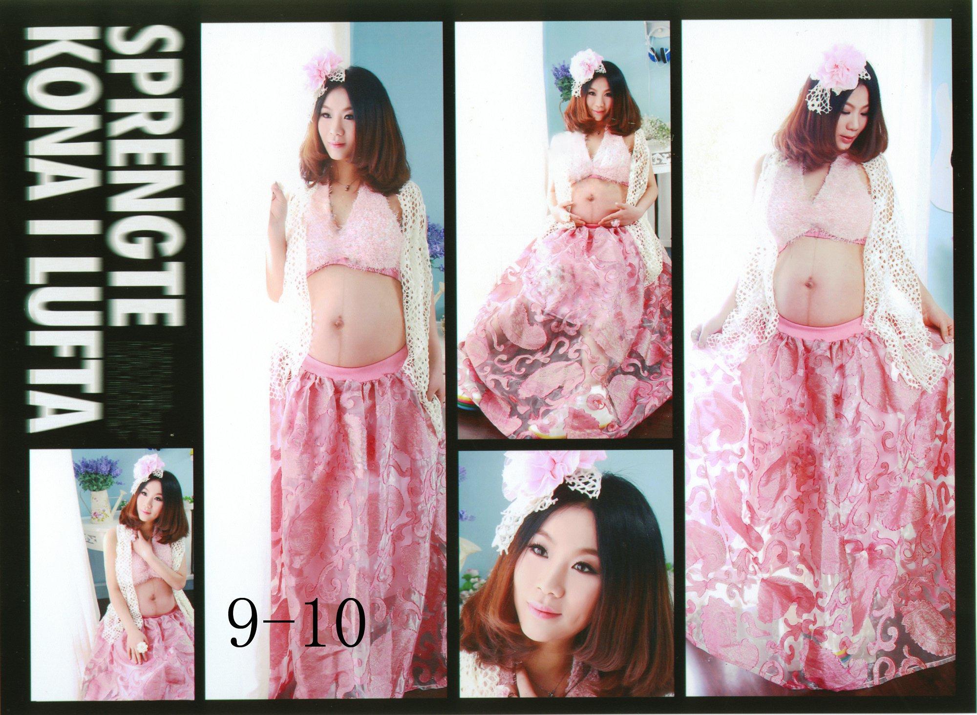 Свадебные и вечерние платья для беременных Новые фото студия одежды Студийная фотосъемка одежды материнства для беременных женщин одежда