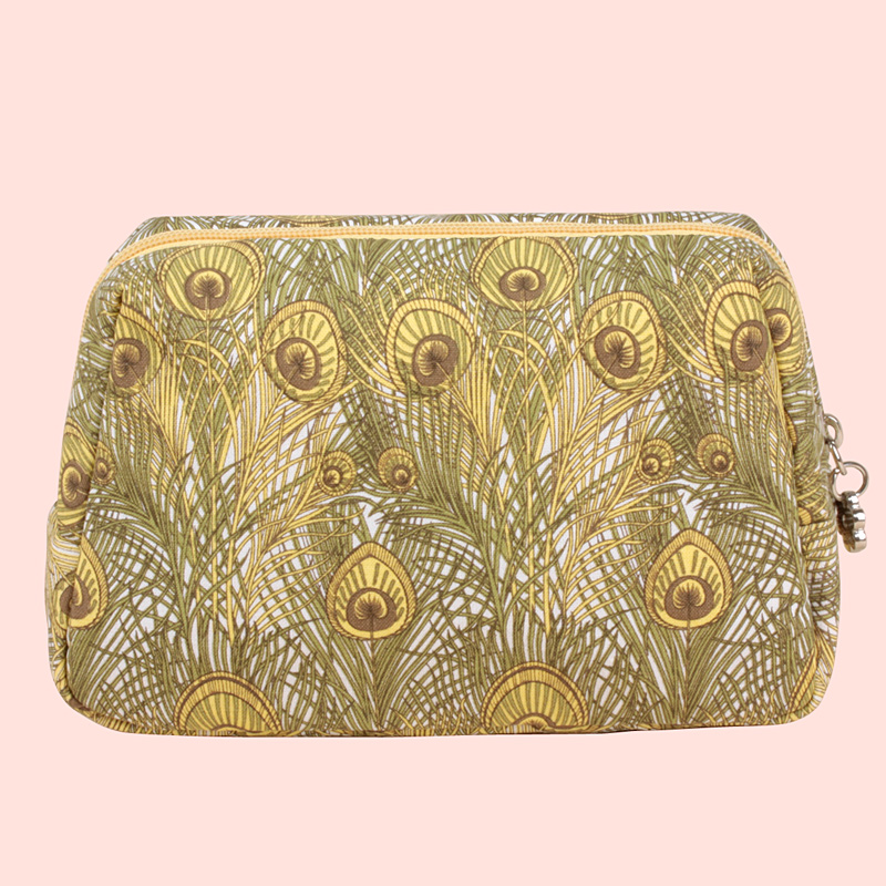 OCS Counters new cotton bag hand bag lady lovely fresh cosmetic bag hand grab bags leisure bags