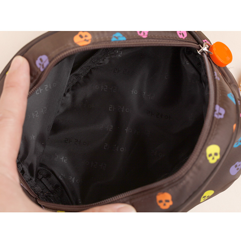 OCS Version of the new cosmetic bag flows cool cartoon nylon bag hand bag handbag catch bag-bag