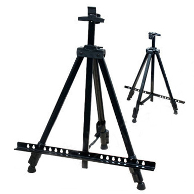 Since oil since painting diy digital painting special telescopic folding metal painting easel advertising poster frame