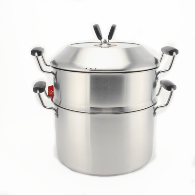 German technology stainless steel steamer multilayer steamer five double bottom floor steamer steamer steamer pot