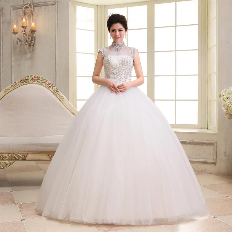 婚纱礼服新款2013 甜美复古包肩婚纱 韩版韩式公主 高贵包邮