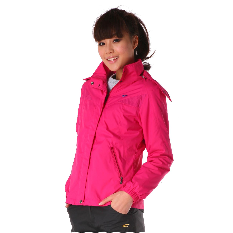 Спортивная куртка SAIQI 221522 2013 Женские Съёмный капюшон Молния Для спорта и отдыха Логотип бренда Против ветра, Воздухопроницаемые, Удерживающая тепло