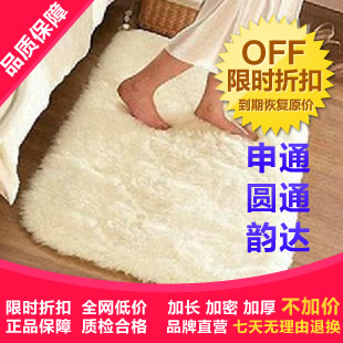 Spot package mail ultra smooth silk and wool is increased anti-sliding door mat living room coffee table in the living room carpet floor mats bedside rugs