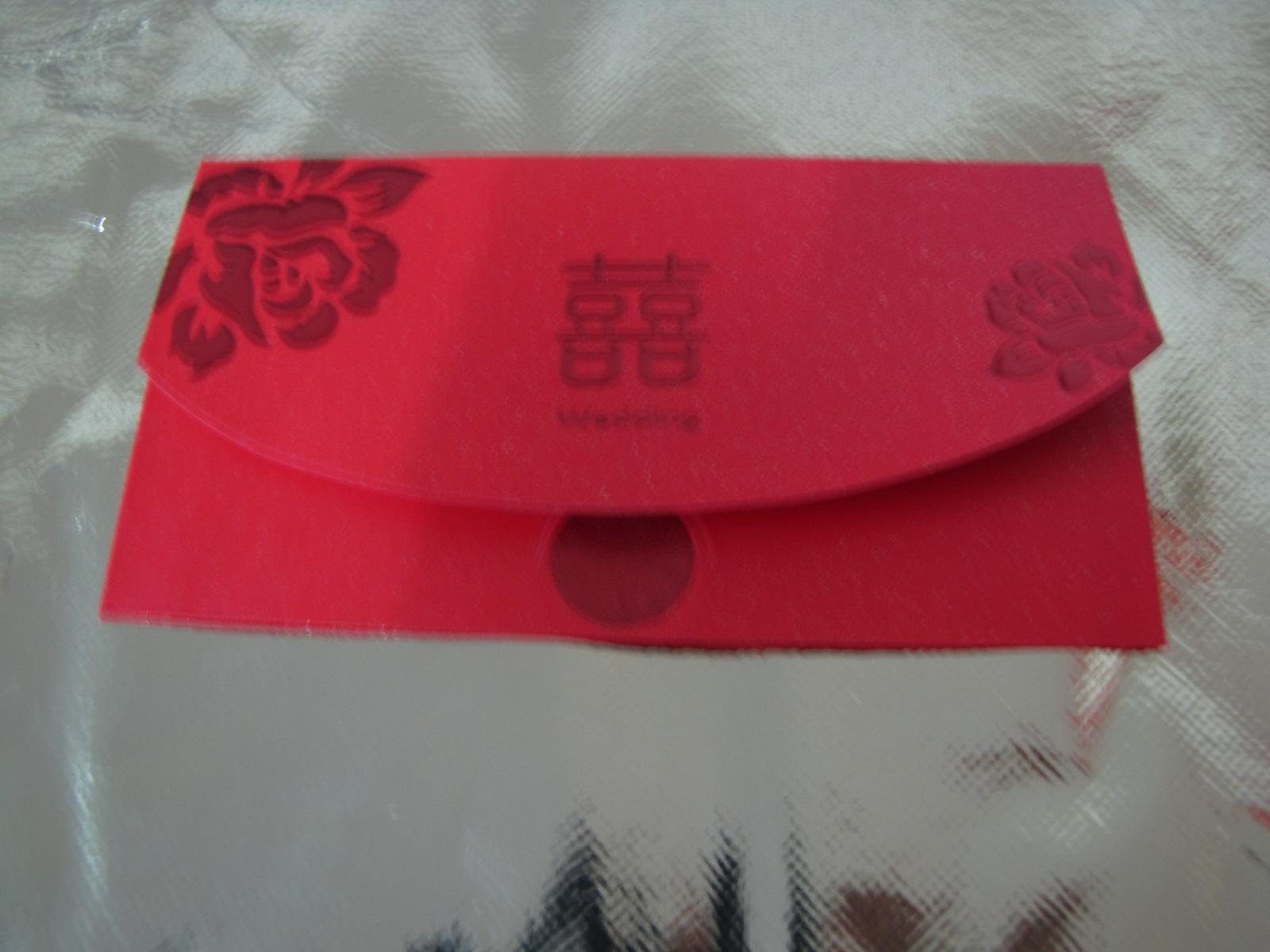 定做红包 广告红包/特种纸烫红金 红包利是封 9X17