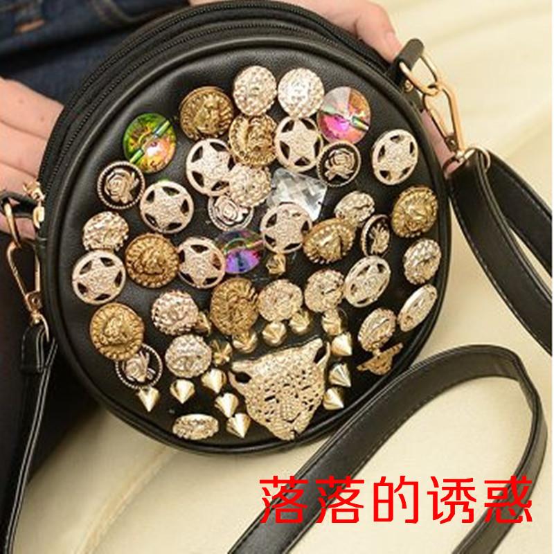 Сумка Корейский пряжки 2013 печенье перекинул небольшие сумки моды ретро женщин плеча сумку кошелек baodan К413
