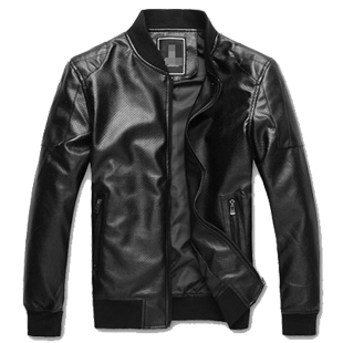 End of year clearance sale new Korean motorcycle leather men men new men's coat jacket washed PU short skin