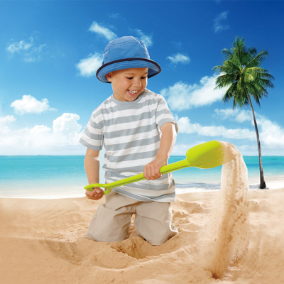 Shovel sand beach toys to play hard and play in the snow dredging tool tuba 55CM baby child gift