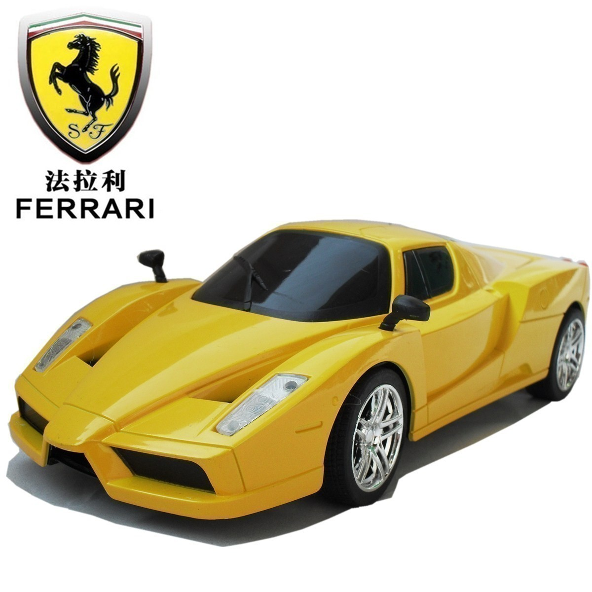 Email simulation of Ferrari Enzo remote control car model 1: 244 ch lamp children's toys