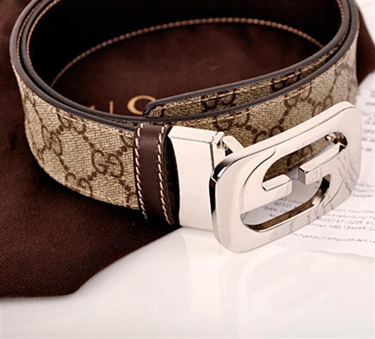 香港专柜正品代购 古奇/gucci皮带 男款腰带 245861 f图片