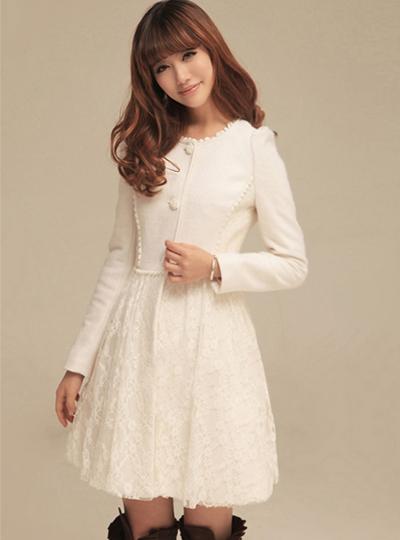 женское пальто Yi Lin 7810/650 2013 Осень 2012 Длинная модель (80 см<длина изделия ≤ 100 см) Yi Lin Длинный рукав Классический рукав