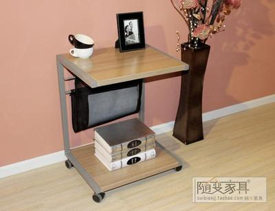 Package delivery table IKEA Elvis style mobile home printer table sofa side table Side 1001