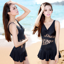 Lace swimwear suit