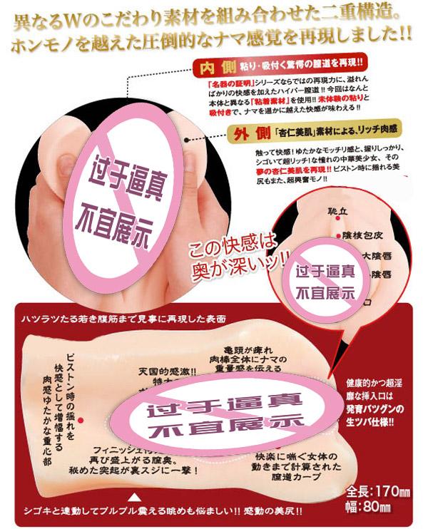 Искусственная вагина «Wield торговли издание» мужской название символа литье (алюминиевый пакет) Пластик