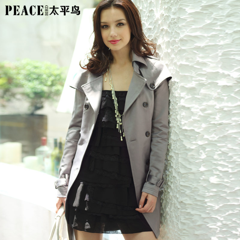 женский плащ PEACEBIRD ab1140505 2013 COLLECTION