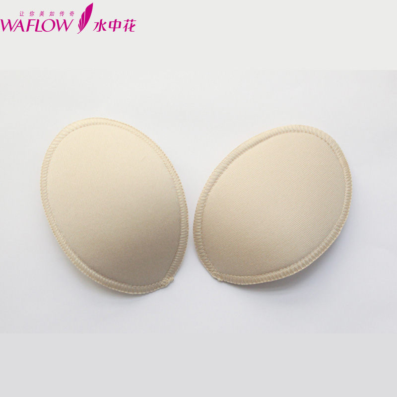 Flower foam breast inserts a genuine mat from water blades Crescent and bullions 2 sizes