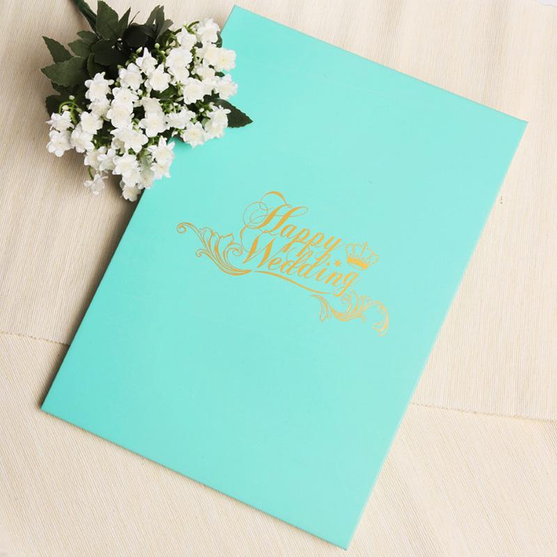 唯思美 高档签名册 签到本 创意签名册 婚礼签到本 tiffany蓝色