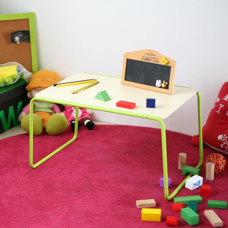潮土彩色床上电脑桌 简易小桌子 笔记本桌子 床上看书写字桌 创意