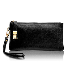 Kanu Di 2013 new spring leather clutch bag handbag Lucky authentic European and American fashion simple handbag