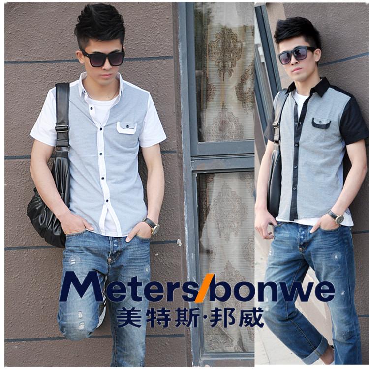Рубашка мужская The meters Bonwe gf527/620