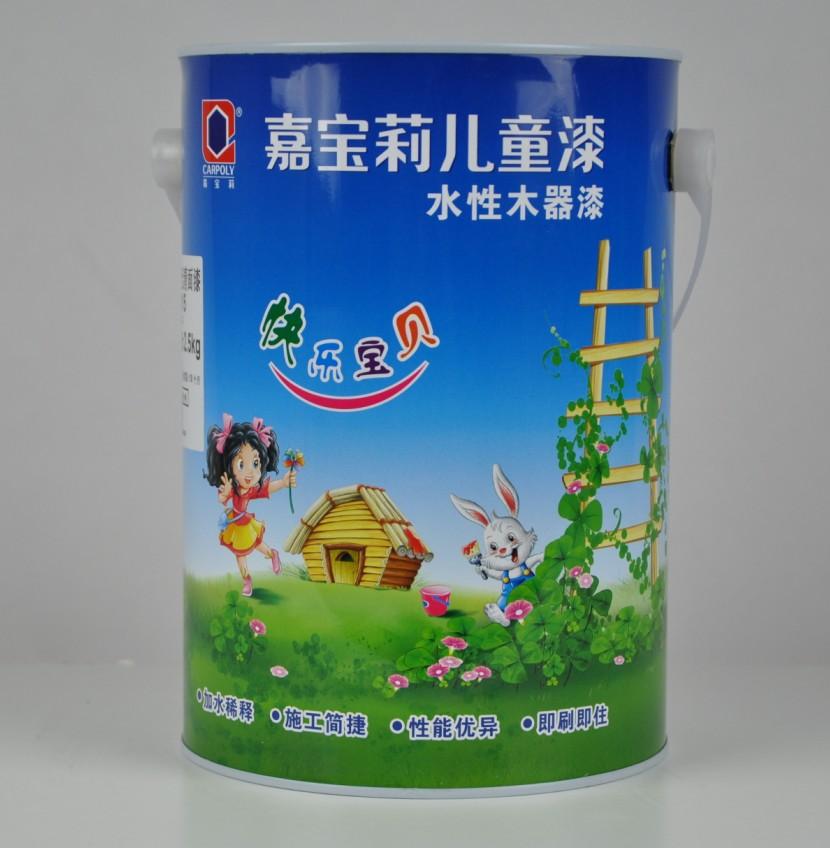 油漆 木器漆 水性漆 嘉宝莉漆儿童水性木器漆 透明清漆 家具漆