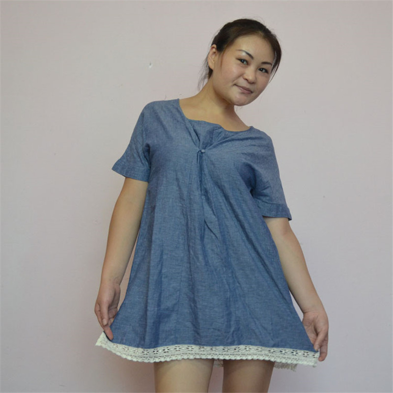 женская рубашка 201315 MUJI