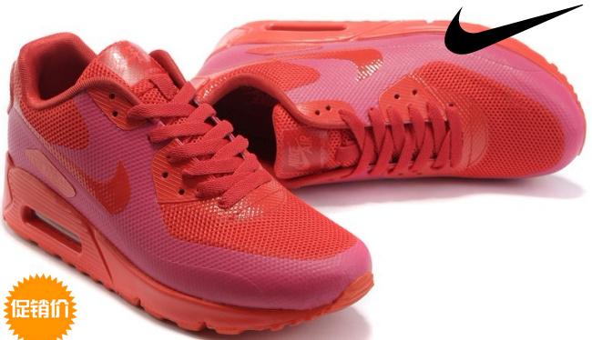 Кроссовки Nike 454446 2012 AIR MAX 90 VT )-600 Мужские Весной 2012 года Сетка