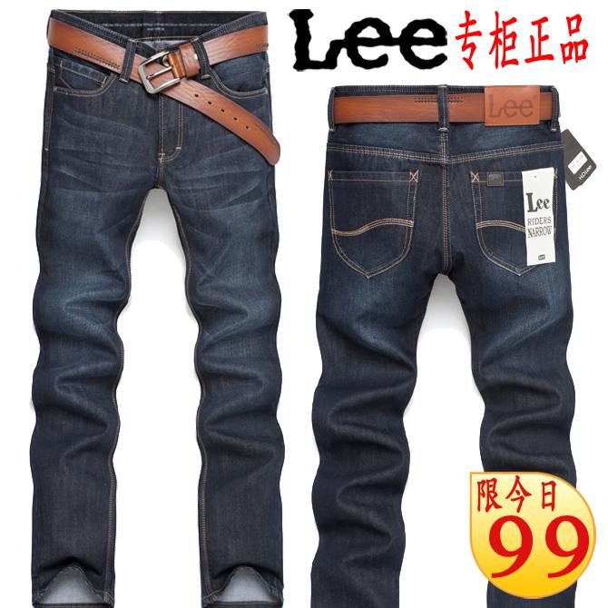 Джинсы мужские Others 6810 LEE Утеплённая джинсовая ткань 2012