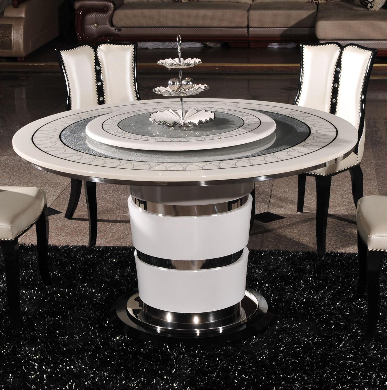 Стол обеденный My e Стиль минимализм Круглой формы