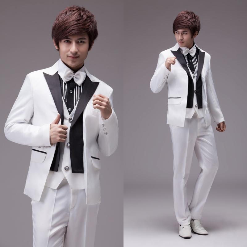 男士礼服套装 结婚礼服 新郎装 正装 婚礼男礼服 演出服 西服套装