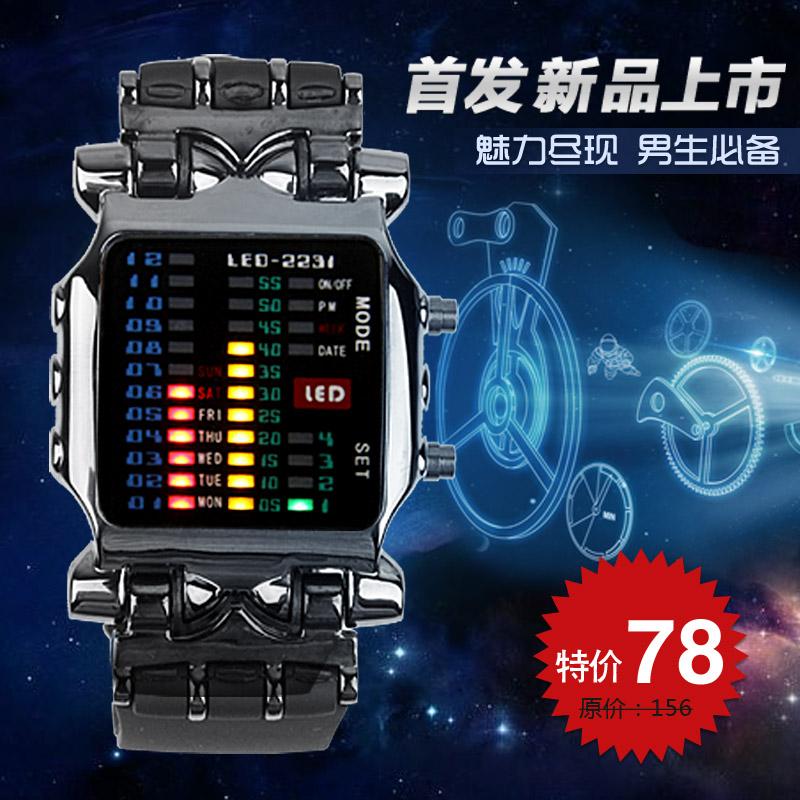Часы TVG LED Электронные Мужские Китай 2013