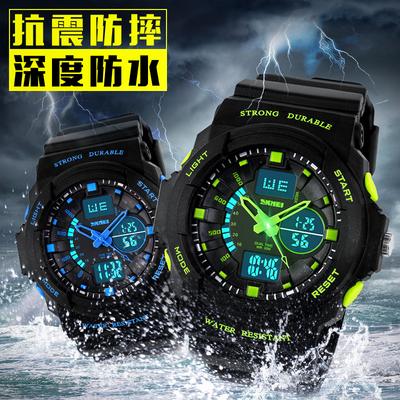 时刻美电子表能防水吗,时刻美男士手表好不好