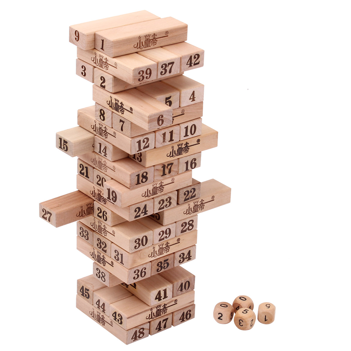 TLER wooden stacking stack-stack high stack of stacks of wooden building blocks children building blocks toys