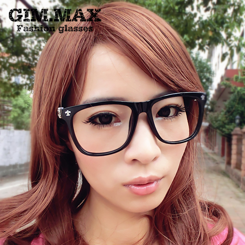 447a959fdef Retro large-framed glasses frame influx of people of non- mainstream  personality black-