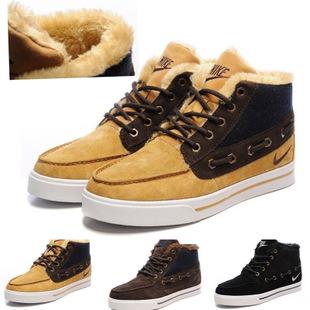кроссовки Nike g689886 Замшевые Зима 2012 Мужские Другой материал