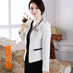 Korean style temperament slim long sleeve small suit jacket